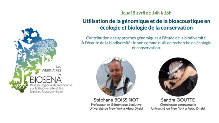 Visionner : Utilisation de la génomique et de l'acoustique en écologie et biologie de la conservation