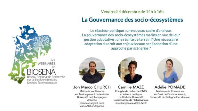 Visionner : La gouvernance des socioécosystèmes