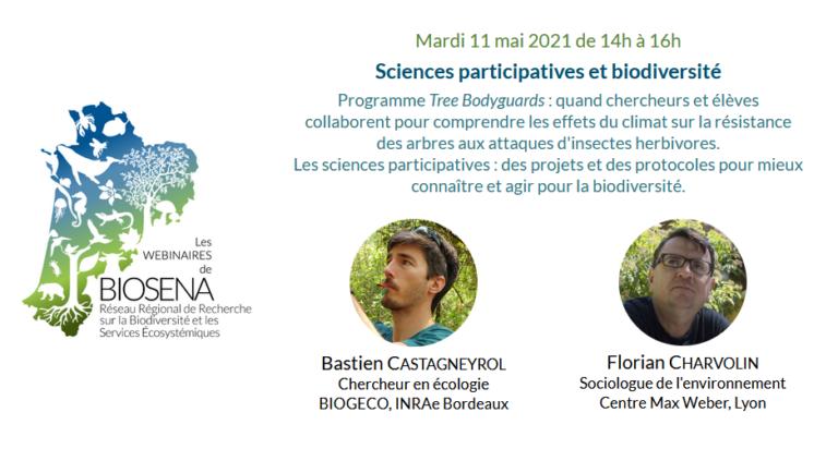 Visionner : Sciences participatives et biodiversité